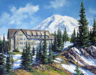 Paradise Inn at Mt. Rainier