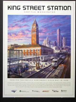 King Street Station Centennial Poster