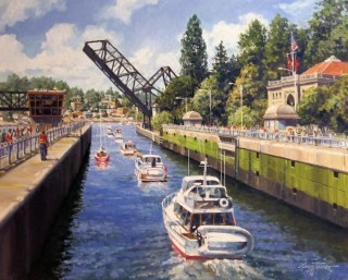 Ballard Locks-West