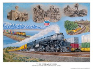 THE AMBASSADOR: Representing 150 years of American Railroading