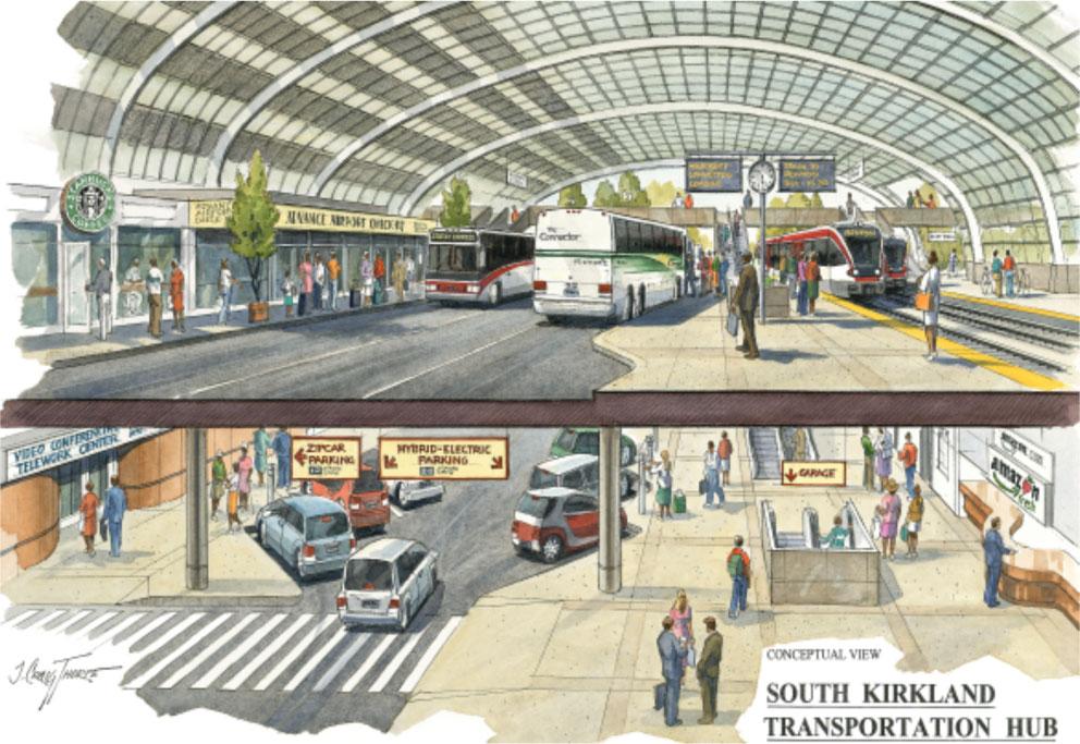 South Kirkland Transportation Hub